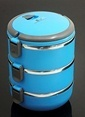 Mizzy Home 2,25 Lt İçi Çelik Üçlü Termos Sefertasi Renkli